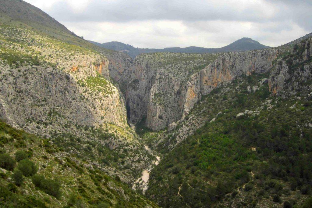 Barranco del Infierno Alicante