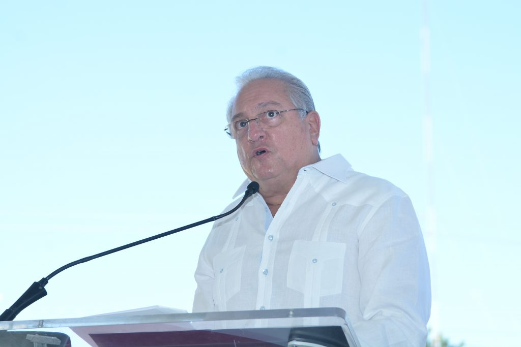Miguel Lama, presidente de la Corporación