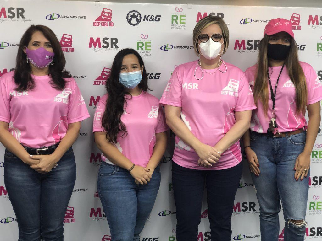Maria Alonzo (MSR) - Mariale Bastidas (KyG) - Farah de la Mota (RE) - Diane Soto (JGRD)