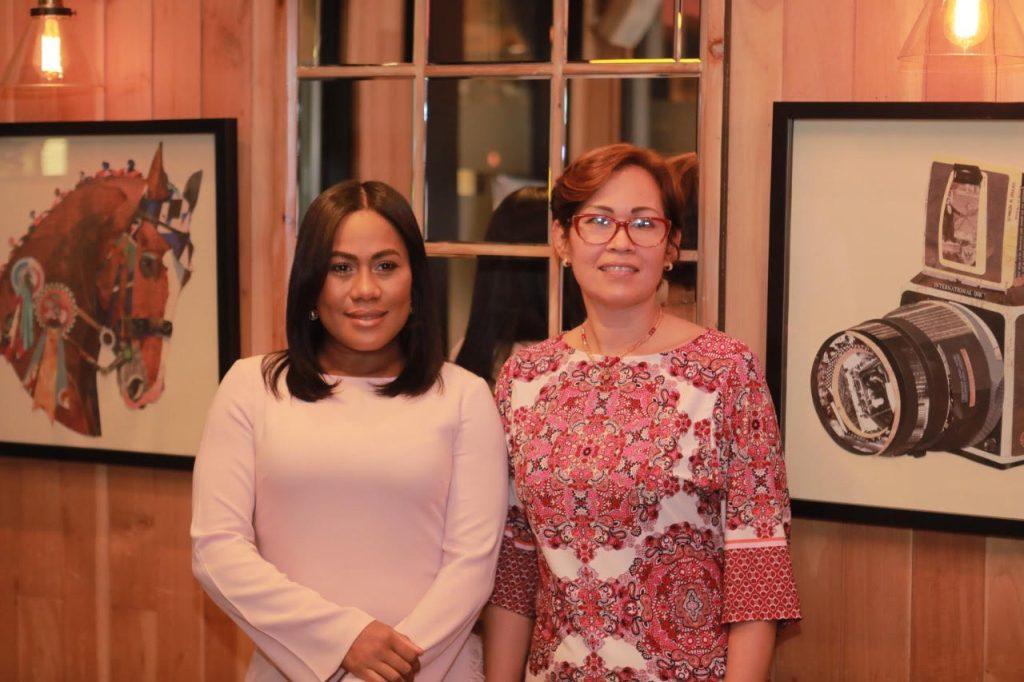 Dahiana Rodriguez y Jesenia Javier.